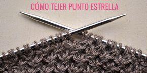 Cómo tejer Punto Estrella   Pearl Knitter
