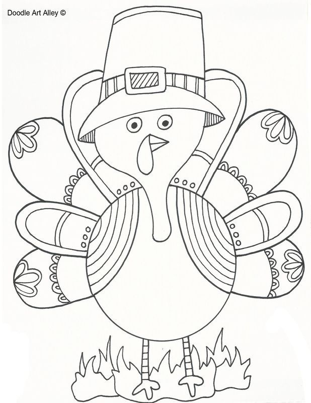 Interactive Coloring Pages For Adults : Best let s learn thanksgiving images on pinterest