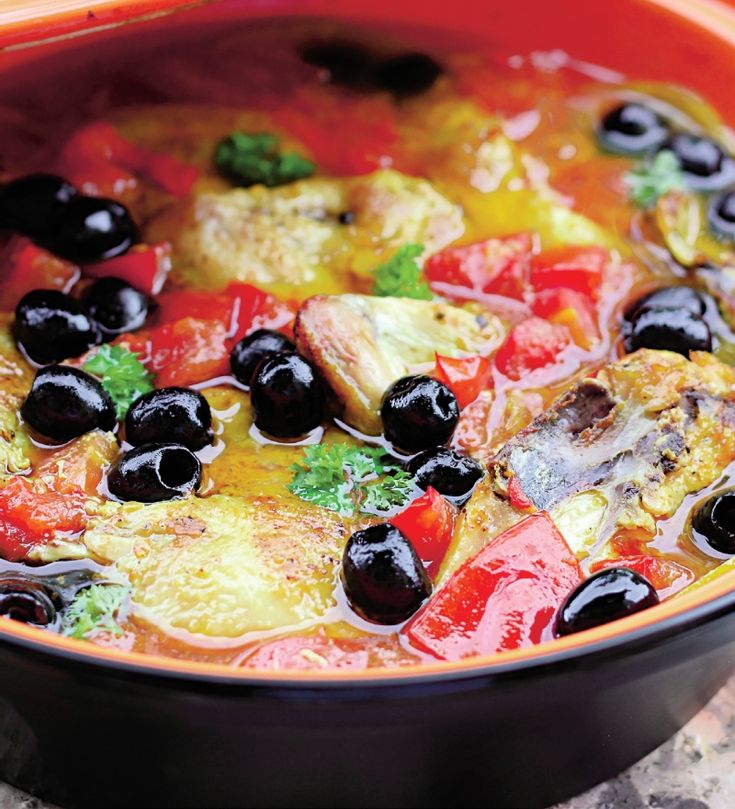 Pui cu masline | Retete culinare - Romanesti si din Bucataria internationala