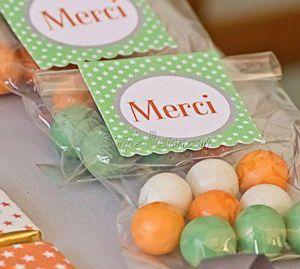 Image of Étiquettes+Sachets bonbons
