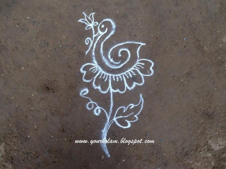 ... Muggulu Kolam, Art Architecture Design, Kolam Rangoli Mandala Designs