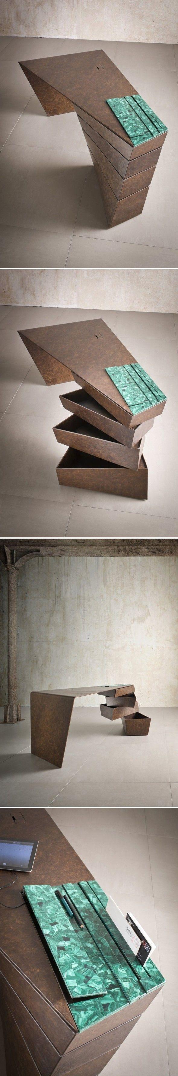 ♂ Unique home furniture table Torque IM Lab - Journal of Design