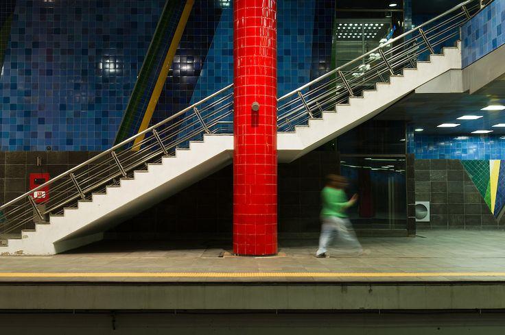 Estação Chelas (Linha Vermelha ), Metropolitano de Lisboa