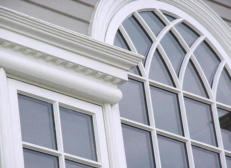 Want This Moulding For My Exterior Exterior PVC Trim Ideas Pinterest