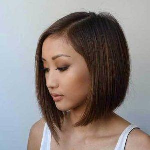 Kurze Haarschnitte für feines Haar und runde Gesichter