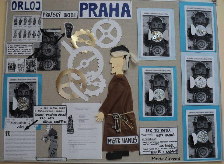 Praha - Staroměstský orloj - Pověst a Mistr Hanuš, skutečnost, zajímavosti,...