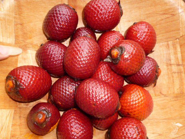 Buriti... fruto silvestre