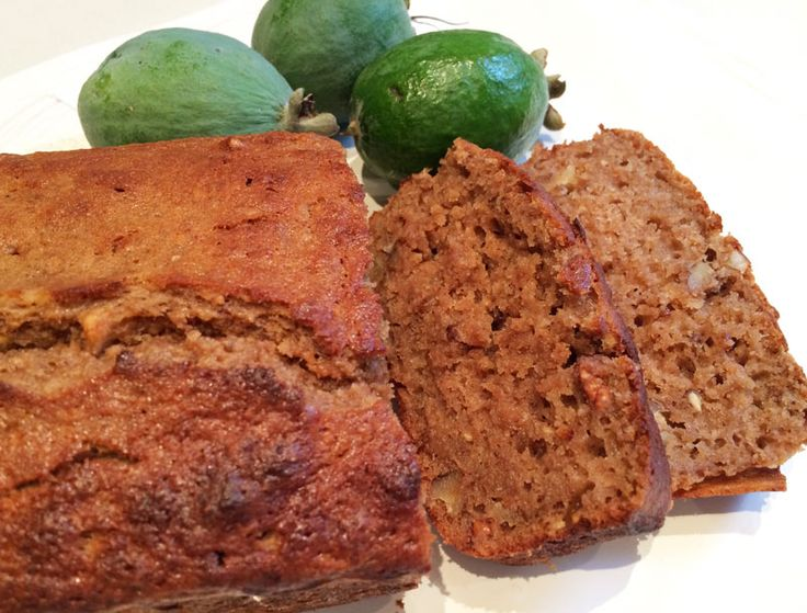 Share the love... Feijoa & Banana Walnut Loaf >> Save Print Prep time 15 mins Cook time 35 mins Total time 50 mins Author: Wick Nixon Recipe type: Cake, Loaf Serves: 12 slices Ingredients 1 c feijoa pulp 1 large ripe banana 80gm coconut oil, melted (I use Tanna Farms) 2 T pure