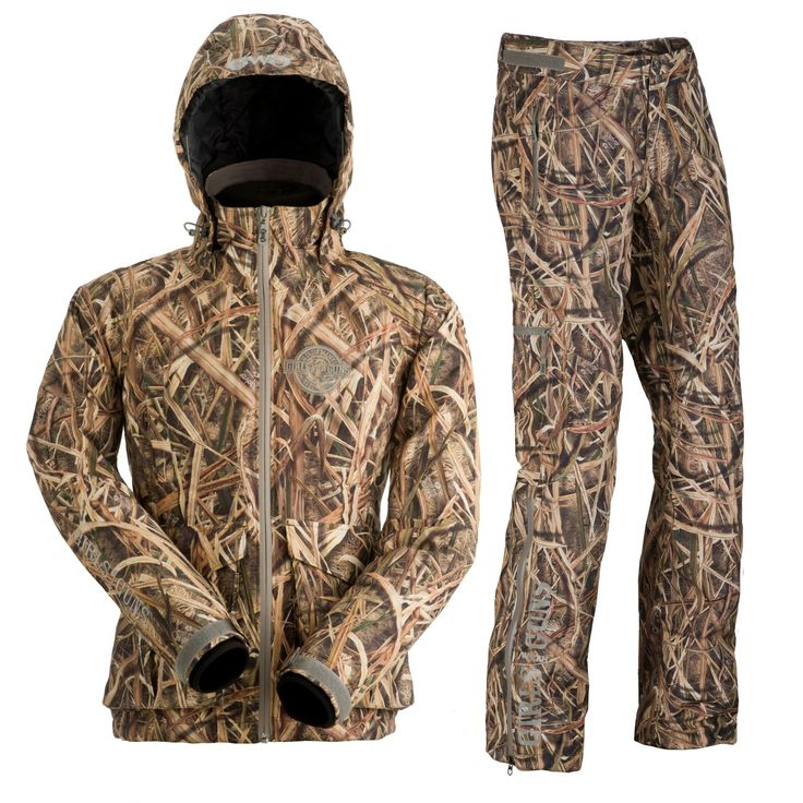The Girls With Guns Clothing Waterfowl Jacket and Pants were designed with the waterfowler woman in mind.  The Mossy Oak Blades pattern works great for duck hunting, and upland game as well!  Lightweight yet warm and functional, the GWG duck gear will exceed all of your hunting gear expectations.