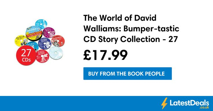 The World of David Walliams: Bumper-tastic CD Story Collection - 27 CDs, £17.99 at The Book People