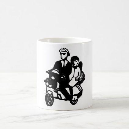 Rude Boy Scooter mug - birthday gifts party celebration custom gift ideas diy
