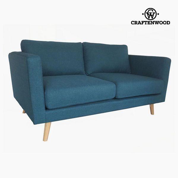 El mejor precio en Hogar 2017 en tu tienda favorita https://www.compraencasa.eu/es/sofas-sofas-camas/94837-sofa-de-2-plazas-madera-de-pino-poliester-azul-148-x-88-x-83-cm-by-craftenwood.html