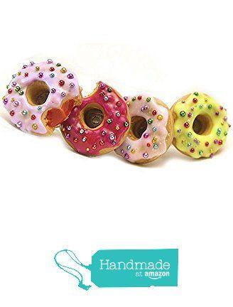 Pastel Donut Earrings ~ Food Jewelry from HugsKissesMINI http://www.amazon.com/dp/B015YBVOSG/ref=hnd_sw_r_pi_dp_CxtKwb112JHPE #handmadeatamazon