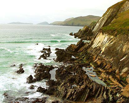 Rocky Coastline of Ireland (Ring of Kerry)