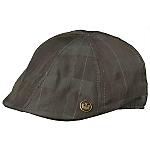 """""""The Oli Rubin"""" ivy cap from Goorin, gets 5 stars from satisfied customer Chris, who cites the top quality, design and excellent fit. See this dark plaid flat cap with sewn down brim, striped lining and elasticized sweatband yourself. It's Item No. 1033116."""