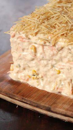 Qual a sua receita de torta fria? Essa de atum fica incrível!