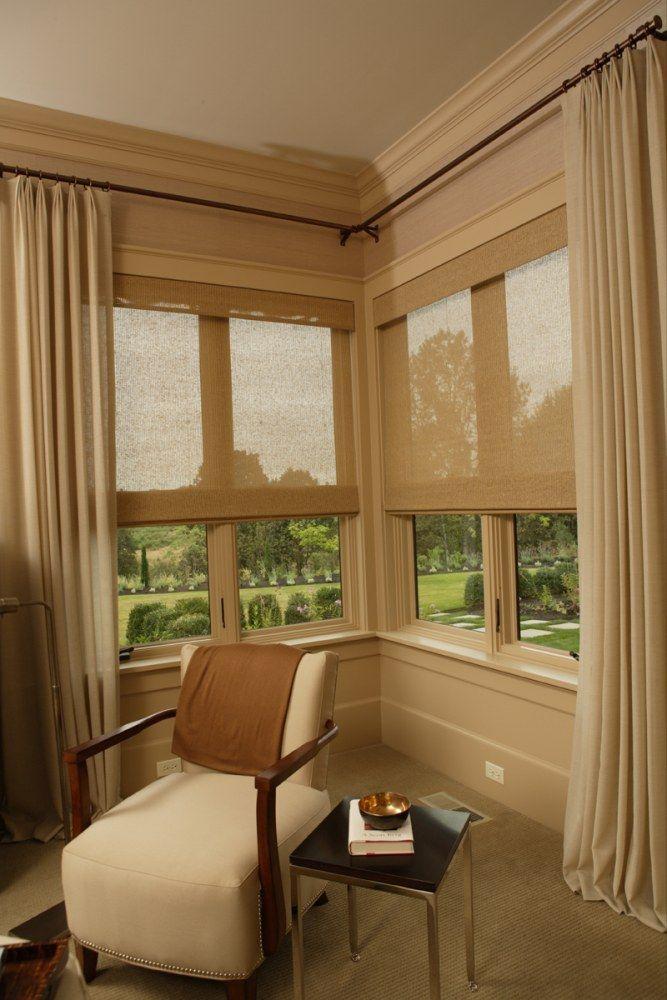 Corner Windows In Jackson S Bedroom