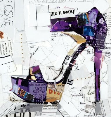 Collage Artist Derek Gores. Derekgores.com. I like his work made from bits of magazines and posters.