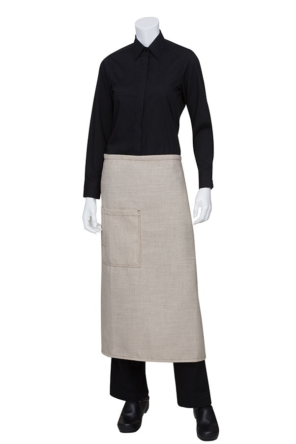 Chef Works | Chef Clothing, Aprons, Uniforms for Restaurants / Hotels Soho Bistro Apron  $24.99  http://www.chefworks.com/