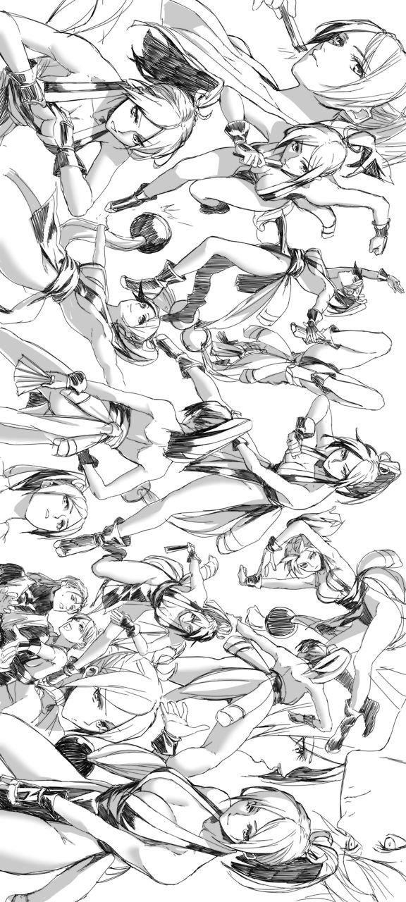 ✧ #characterconcepts ✧ Mai Shiranui, Fatal Fury.