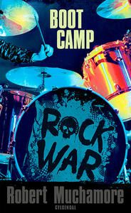 7 stars out of 10 for Rock War #2 Boot Camp by Robert Muchamore #boganmeldelse #bookreview #books #bookish #booklove #bookeater #bogsnak Read more reviews at http://www.bookeater.dk