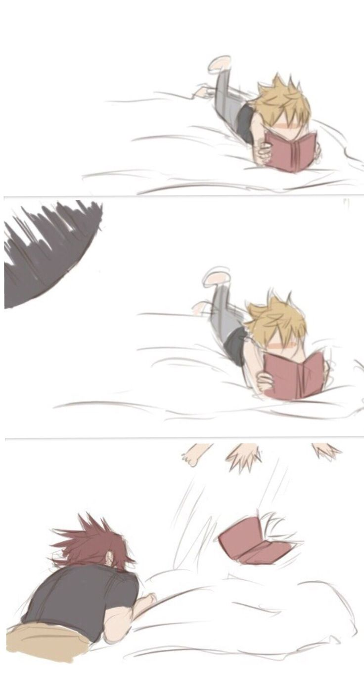 Oh, he's gone. | Terra and Ventus