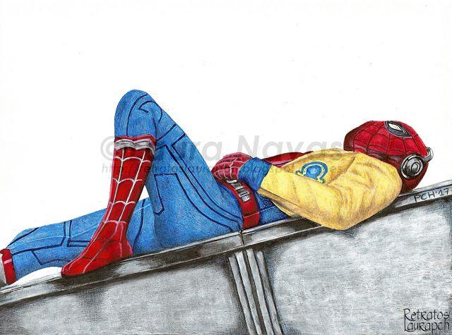 Retratos Laura pch: Spiderman Película/Movie, Homecoming Actor, Tom Holland