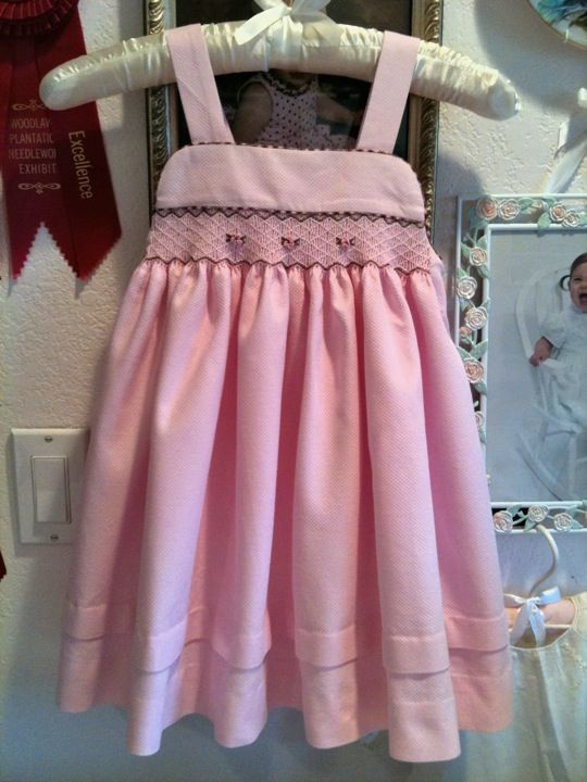 17 Best Images About Smoking Frocks Babies On Pinterest