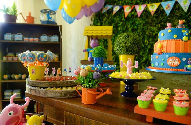 82 best backyardigans party images on pinterest birthday for Backyardigans party decoration