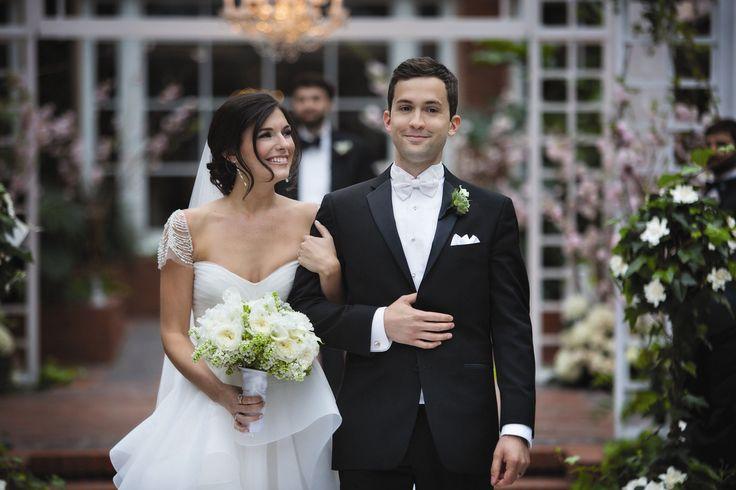 A Romantic Atrium Wedding at MEDITECH in Canton, Massachusetts