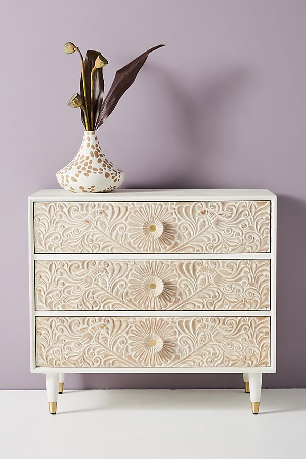 Gulliver Three Drawer Dresser Furniture Inspiration Three