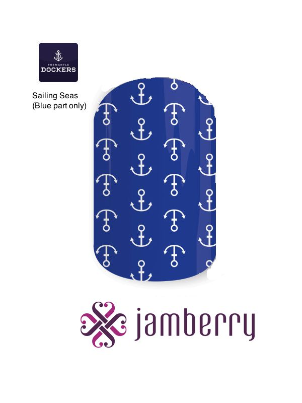 Jamberry Dockers Inspiration - Sailing Seas (Blue part only)