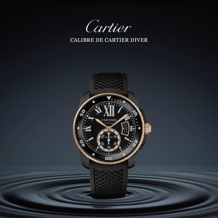 El nuevo Calibre de #CARTIER Diver es un auténtico reloj de submarinismo que combina la exigencia técnica con una estética excepcional.
