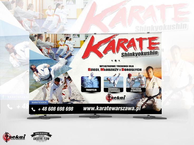 Kampania reklamowa 2014 Klubu Karate w Warszawie.