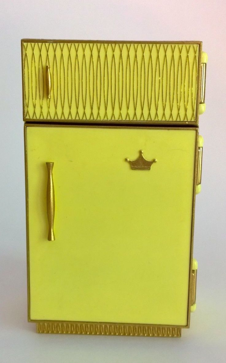 Ideal Petite Princess Doll House Kitchen Opening Refridgerator 1960s Very | eBay