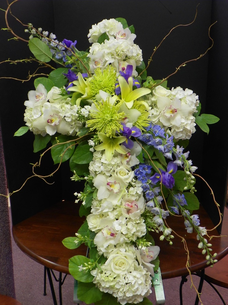 Sympathy and Funerals | Buckets Fresh Flower Market & Florist  |Casket Flowers