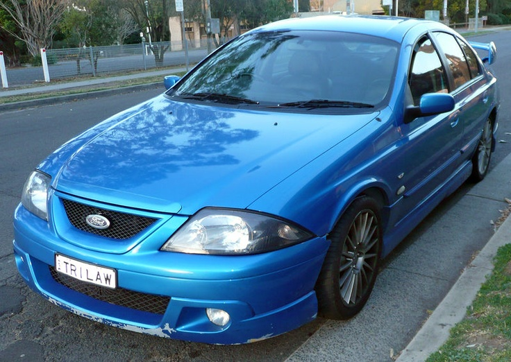 2001 - 2002 Ford Falcon TE50 (T3)