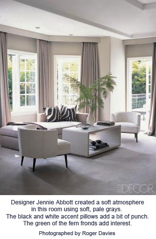 Most Rooms Using An Achromatic Scheme Will Have At Least A