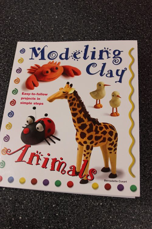 Modeling clay animals book