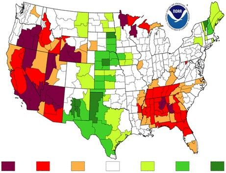 Best Water Scarcity Awareness Images On Pinterest Water - Water crisis map us