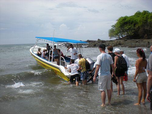 Zuma Tours Boat to Tortuga Island really!