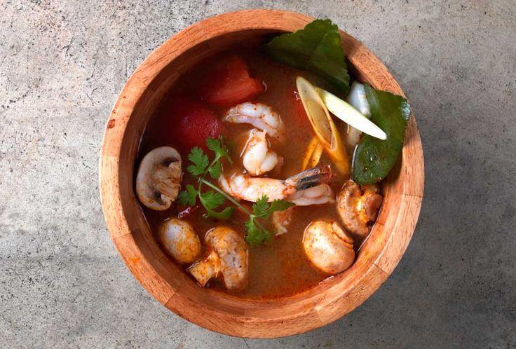 Tom Yum Goong Soup | Recipe