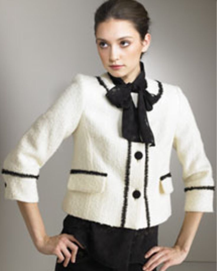16 Best Coco Chanel Jackets Images On Pinterest