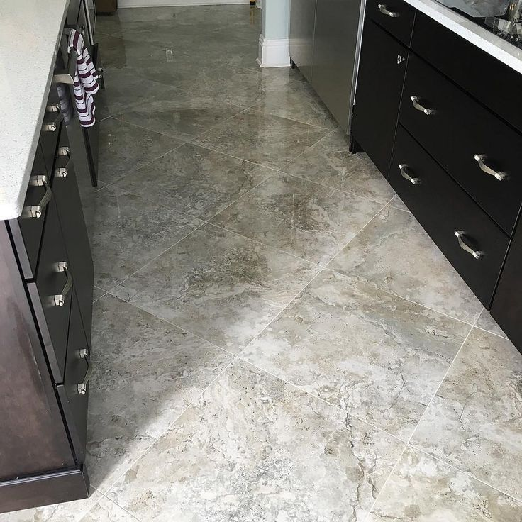 Tampa Kitchen And Bath Gallery: Final Photos Of The 24x24 Tarsus Grey Polished Porcelain