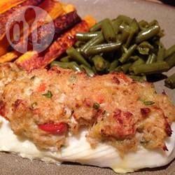 Recipe photo: Crab stuffed haddock