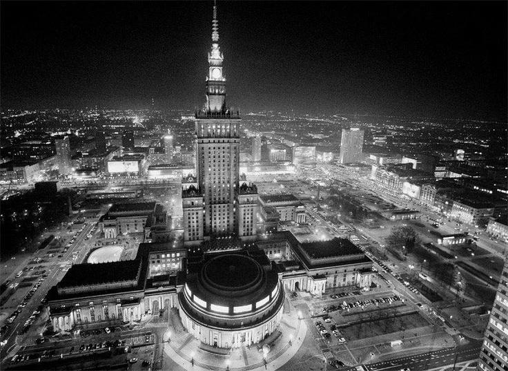 Black & white, Warsaw, Poland