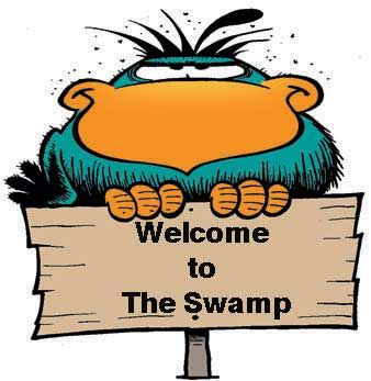 Welcome to the Swamp! The #Bludgerigar has his own take on making visitors feel welcome! http://www.swamp.com.au/