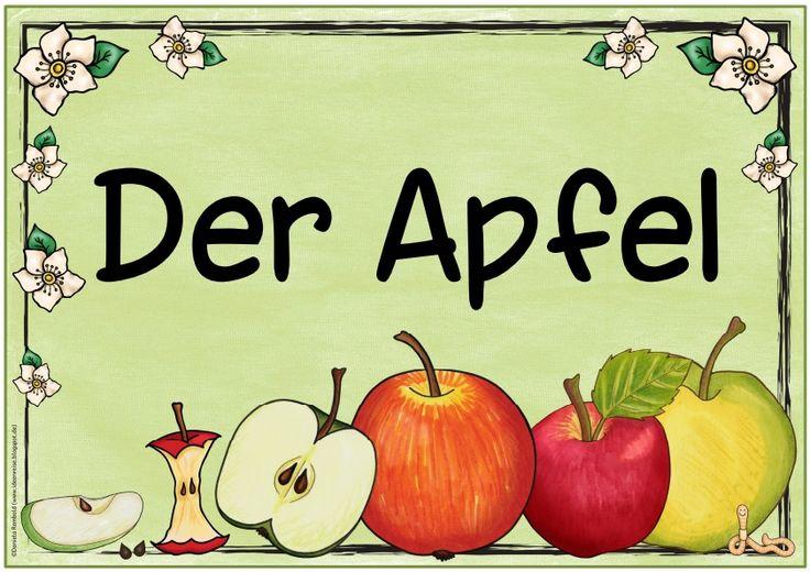 Ideenreise: Zwei neue Themenplakate (Der Apfel/Das Eichhörnchen)