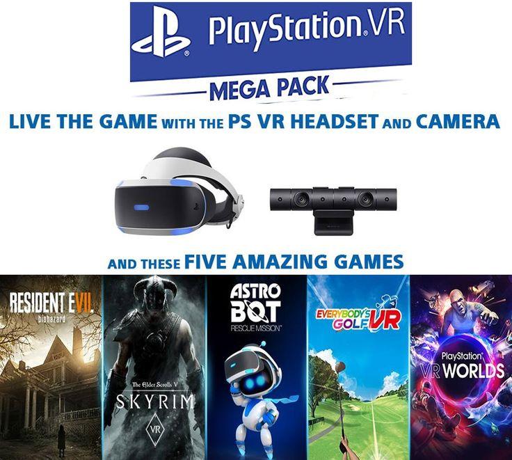 Playstation Vr Mega Pack Ps4 In 2020 Playstation Vr Vr Player Virtual Reality Games