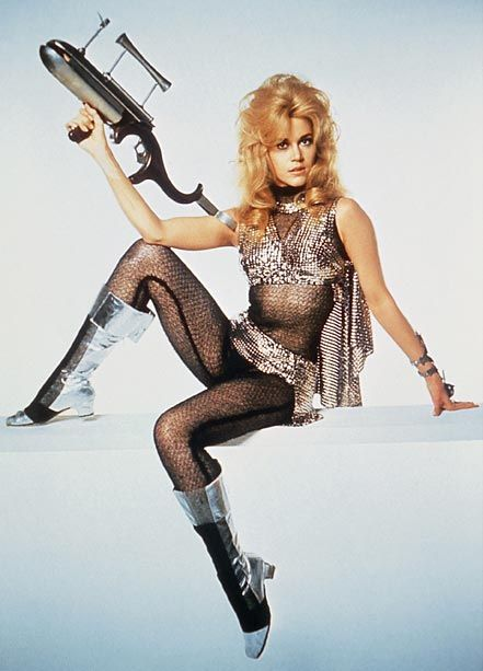 Jane Fonda, Barbarella | Has there ever been a sexier (or less practical) spacesuit than the one worn by Jane Fonda in the 1968 cult classic...